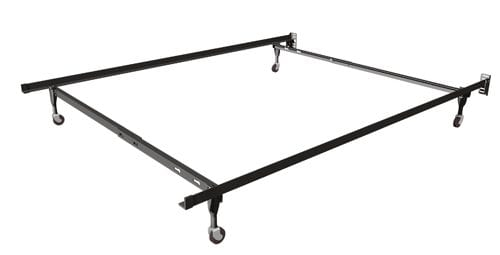 Twin/Full Bed Frame w Small Caster