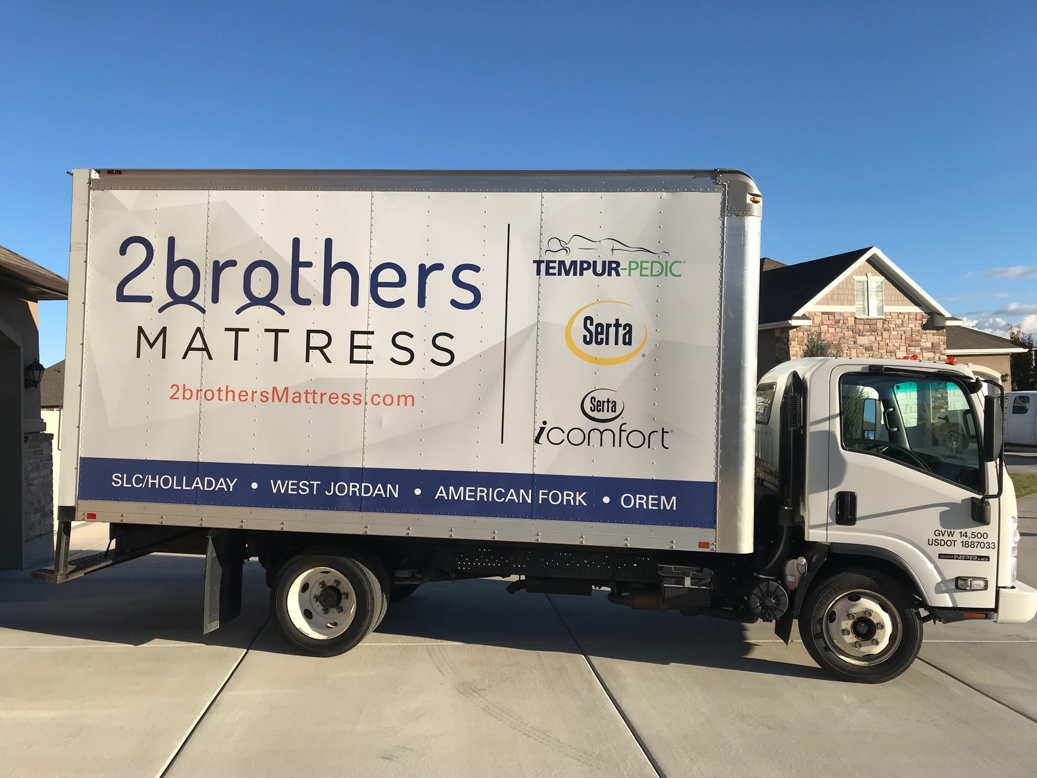 Mattress Delivery Service Utah 2 Brothers Mattress