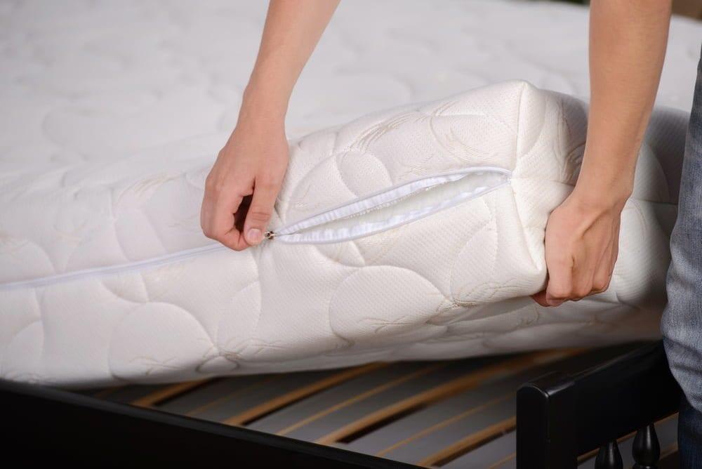 common materials inside mattress