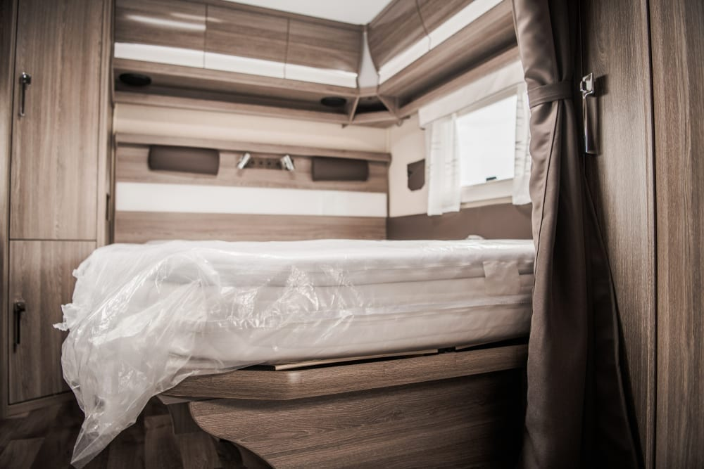 purchasing mattress RV camper
